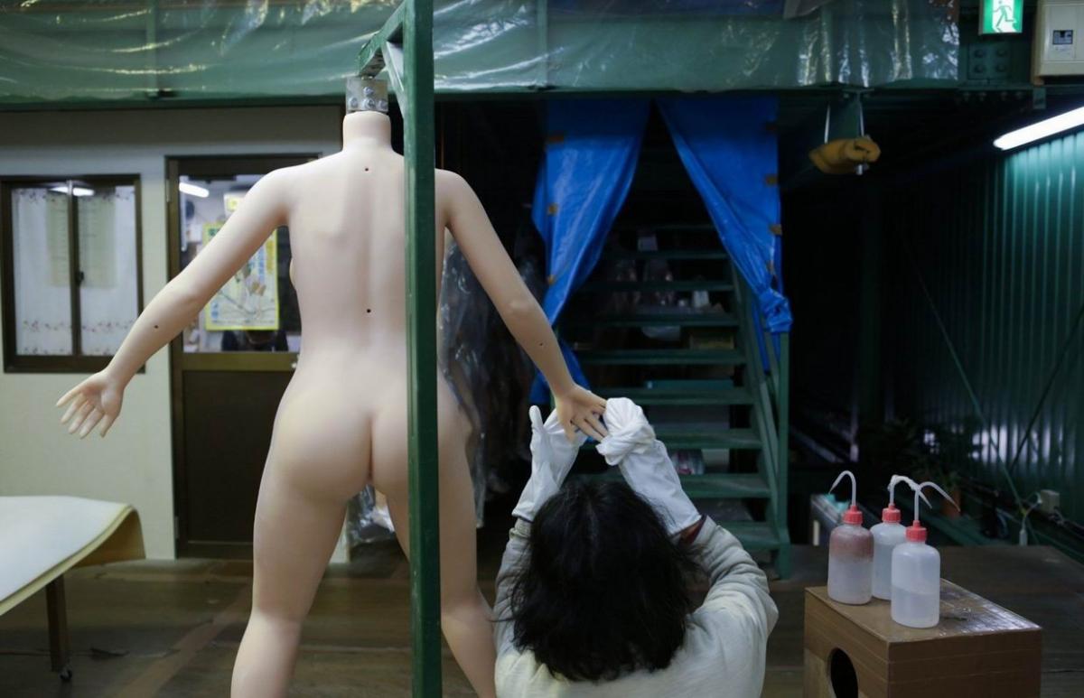 japonský realistický sex panenka