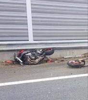 Smrt motorkáře na Slovensku